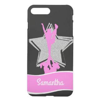 Pink Cheerleader Flyer personalised iphone 7 case