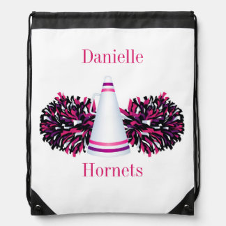 Pink Cheerleading Cheer Personalized Backpack