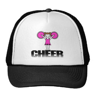 Pink Cheerleading T-shirts and Gifts Cap