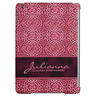 Pink Cheetah Feminine Custom Case
