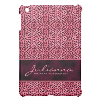 Pink Cheetah Feminine Custom Case iPad Mini Cover