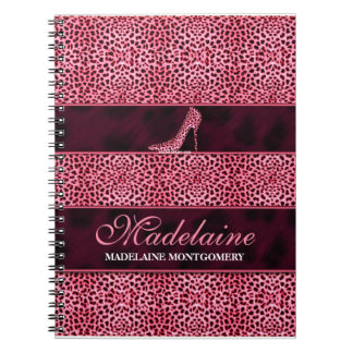 Pink Cheetah for the Writer Notebooks