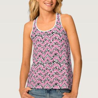 Pink Cheetah Singlet