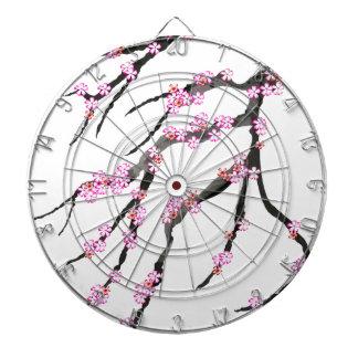 Pink Cherry Blossom 31, Tony Fernandes Dartboard