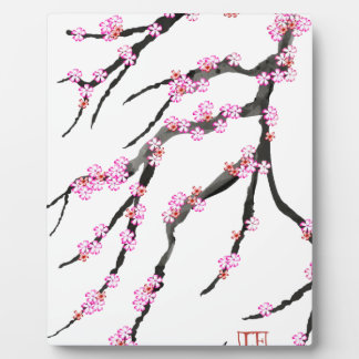 Pink Cherry Blossom 31, Tony Fernandes Display Plaque