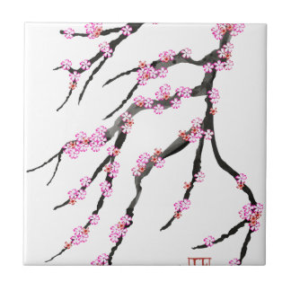 Pink Cherry Blossom 31, Tony Fernandes Tile