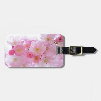 Pink Cherry Blossom Bag Tag