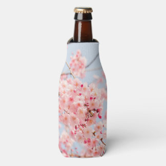 Pink Cherry Blossom Bottle Cooler