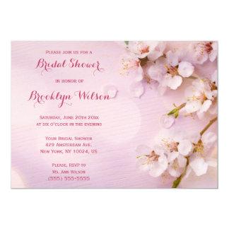 Pink Cherry Blossom Bridal Shower Invites