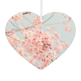 Pink Cherry Blossom Car Air Freshener