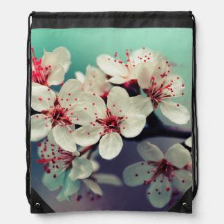 Pink Cherry Blossom, Cherryblossom, Sakura Drawstring Bag