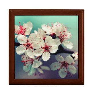 Pink Cherry Blossom, Cherryblossom, Sakura Large Square Gift Box