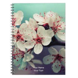 Pink Cherry Blossom, Cherryblossom, Sakura Notebooks