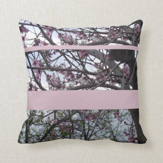 Pink Cherry Blossom Cushion