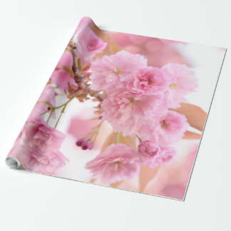 Pink Cherry Blossoms- Sakura in Spring Wrapping Paper
