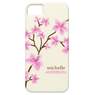 Pink Cherry Blossoms Tree Case For The iPhone 5