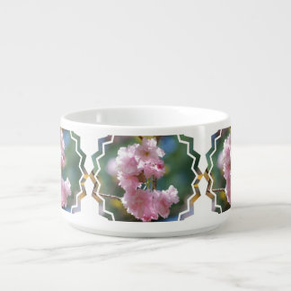 Pink Cherry Blossoms Chili Bowl