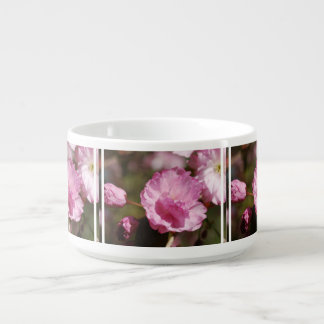 Pink Cherry Blossoms Chili Bowl