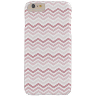 Pink Chevron Barely There iPhone 6 Plus Case