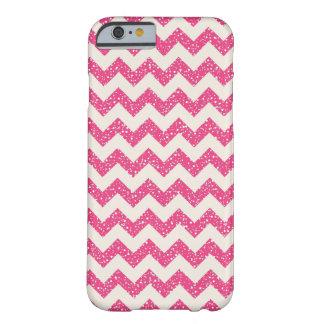 Pink Chevron Glitter iPhone 6 case