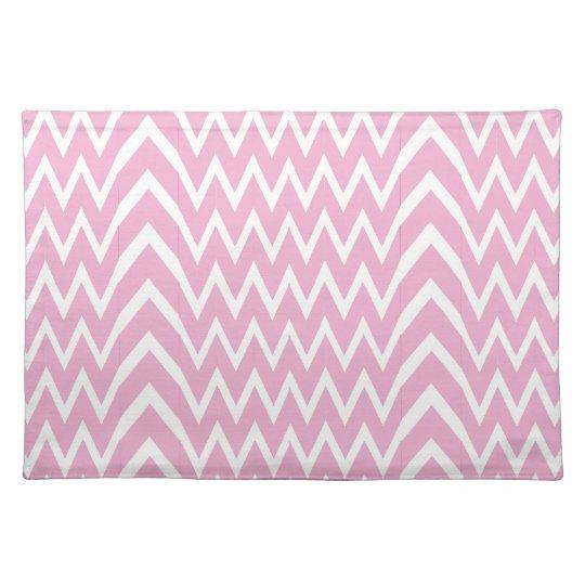 Pink Chevron Illusion Placemat