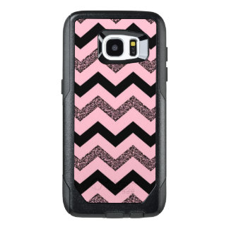 Pink Chevron Samsung Galaxy 7 Edge Otterbox Case