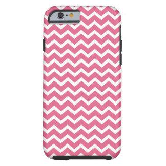Pink Chevrons Pattern Tough iPhone 6 Case