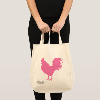 Pink Chicken! Tote Bag