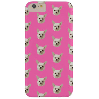Pink Chihuahua Barely There iPhone 6 Plus Case