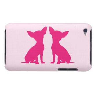 Pink Chihuahua dog cute iPod Touch Case Mate, gift