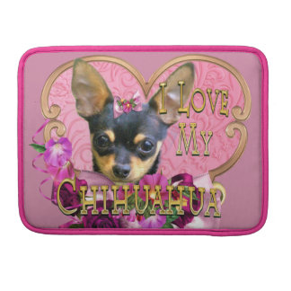 Pink Chihuahua Sleeve For MacBook Pro