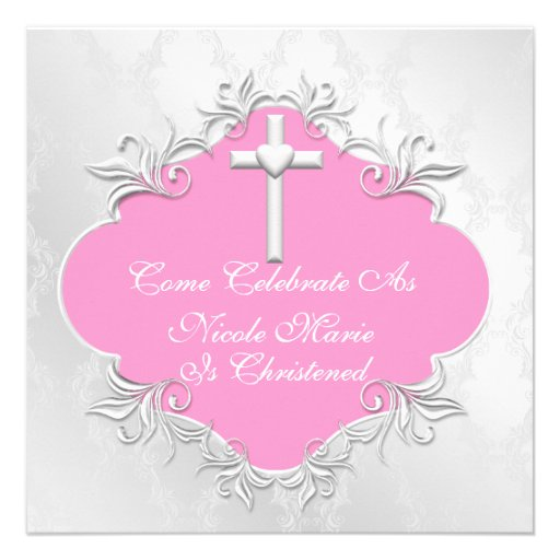 Make Christening Invitations as beautiful invitation layout