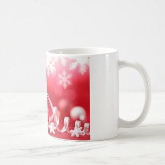 Pink Christmas Ornaments and Lace Coffee Mugs