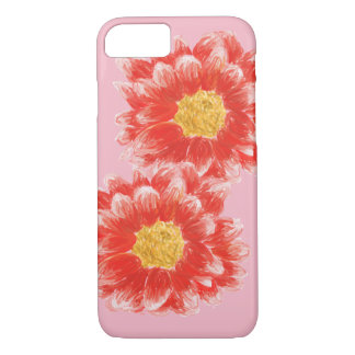 Pink Chrysanthemum Flower iPhone Case