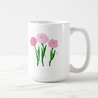 Pink Chrysanthemums Coffee Mug
