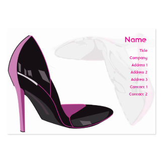 Pink - Chubby Business Cards