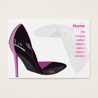 Pink - Chubby Business Card