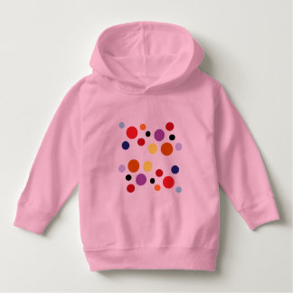 pink circles toddler hoodie by DAL