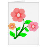Pink Clipart Flowers Greeting Cards