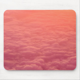 Pink Clouds Mouse Pad