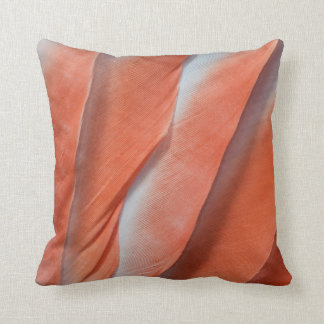 Pink Cockatoo Feather Design Cushion