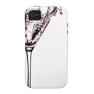 Pink Cocktail iPhone 4 Cases