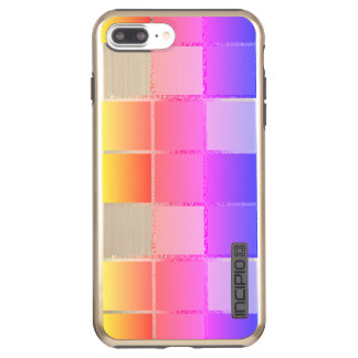 Pink Colorful Cube Geometric iPanema Cubist Incipio DualPro Shine iPhone 8 Plus/7 Plus Case