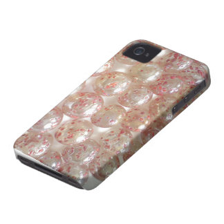 Pink Coloured Glass balls pattern theme iPhone 4 Case-Mate Cases