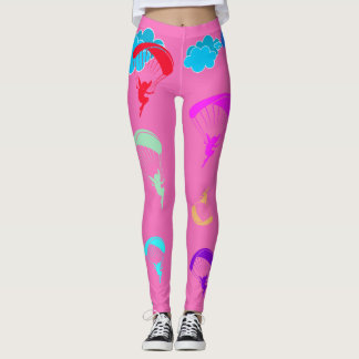 Pink Colourful Pixie Leggings