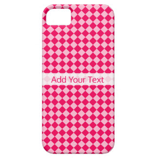 Pink Combination Diamond Pattern by Shirley Taylor iPhone 5 Covers
