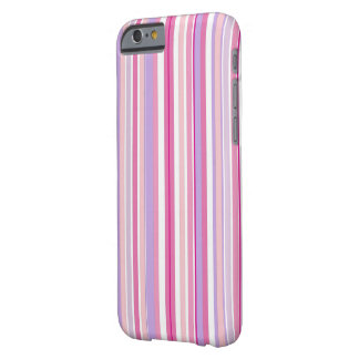 Pink Combo Stripes iPhone 6/6s Barely There iPhone 6 Case