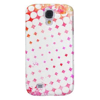 Pink Comic Book Blast Design Galaxy S4 Case