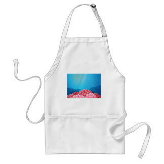 Pink corals under the sea standard apron