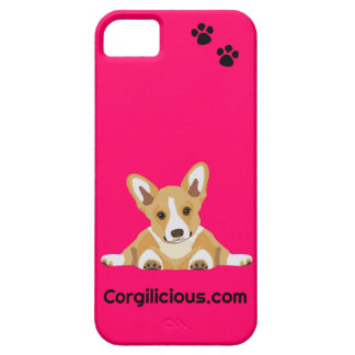 Pink Corgi Puppy iPhone 5 Case